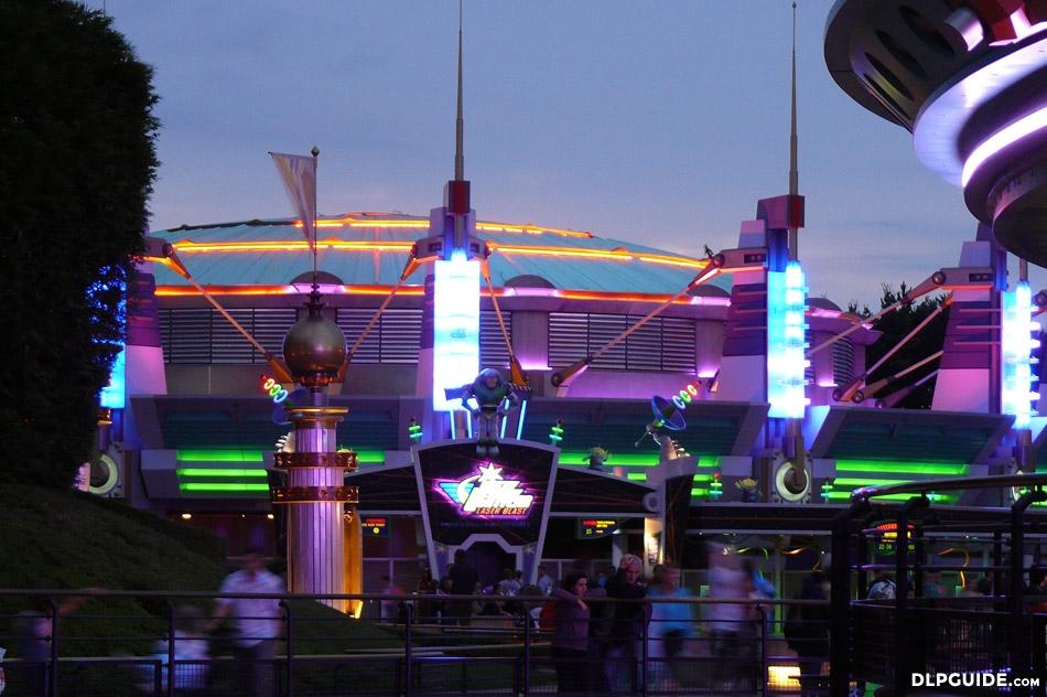 Buzz Lightyear Laser Blast Dlp Guide Disneyland